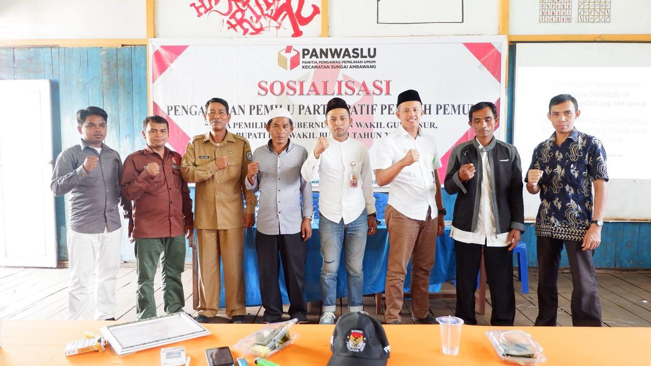 Sosialisasi Pengawasan partisipatif pemilih pemula pilkada serentak 2018